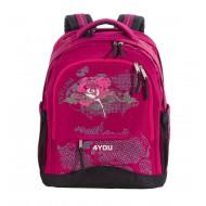 Школьный рюкзак 4you compact - плывущие цвета отзыв рюкзак molle tactical backpack обзор